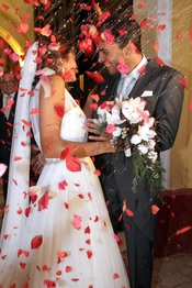 Antonio Tejado y Alba Muñoz ya son marido y mujer