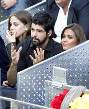 Miguel Ángel Muñoz y Lara Álvarez en la final del Master Series de Madrid