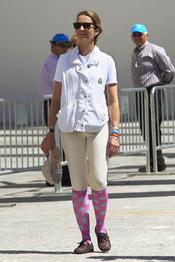 La Infanta Elena en un concurso de hípica en Valencia