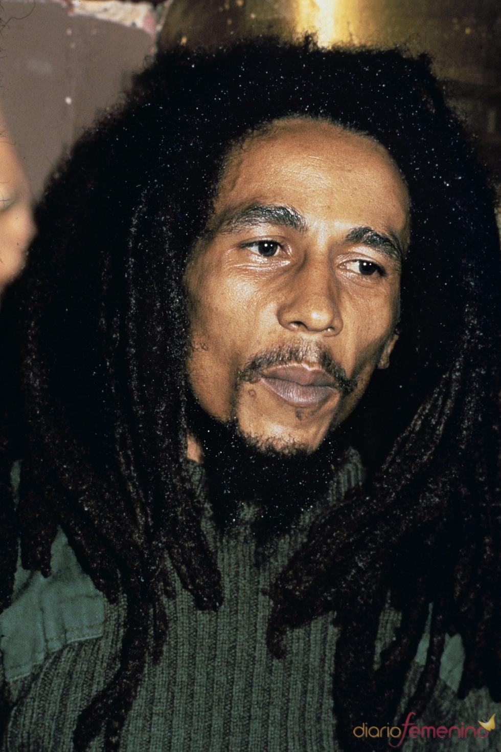 El músico de reggae Bob Marley