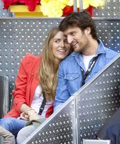 Rafael Medina y Laura Vecino en la final del Master Series de Madrid