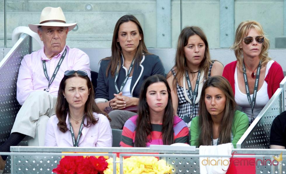 Belén Rueda y Tamara Falcó en la final del Master Series de Madrid