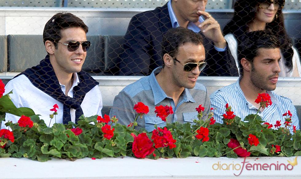 Kaká, Ricardo Carvalho y Miguel Torres en la final del Master Series de Madrid