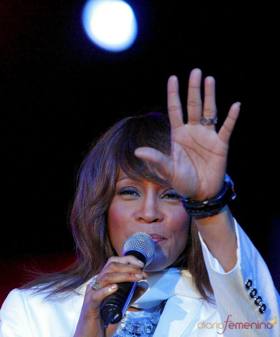 La cantante Whitney Houston ingresa en rehabilitación