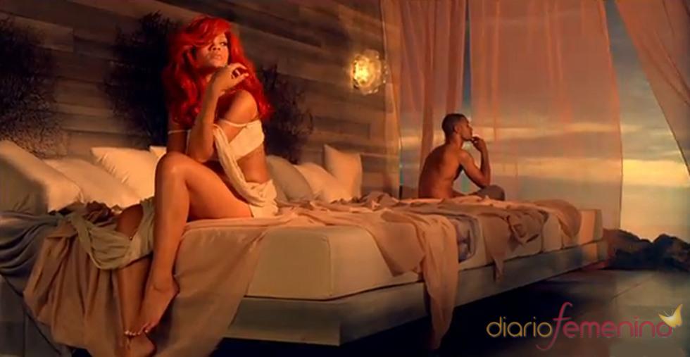 Rihanna, muy sensual en su nuevo videoclip 'California King Bed'