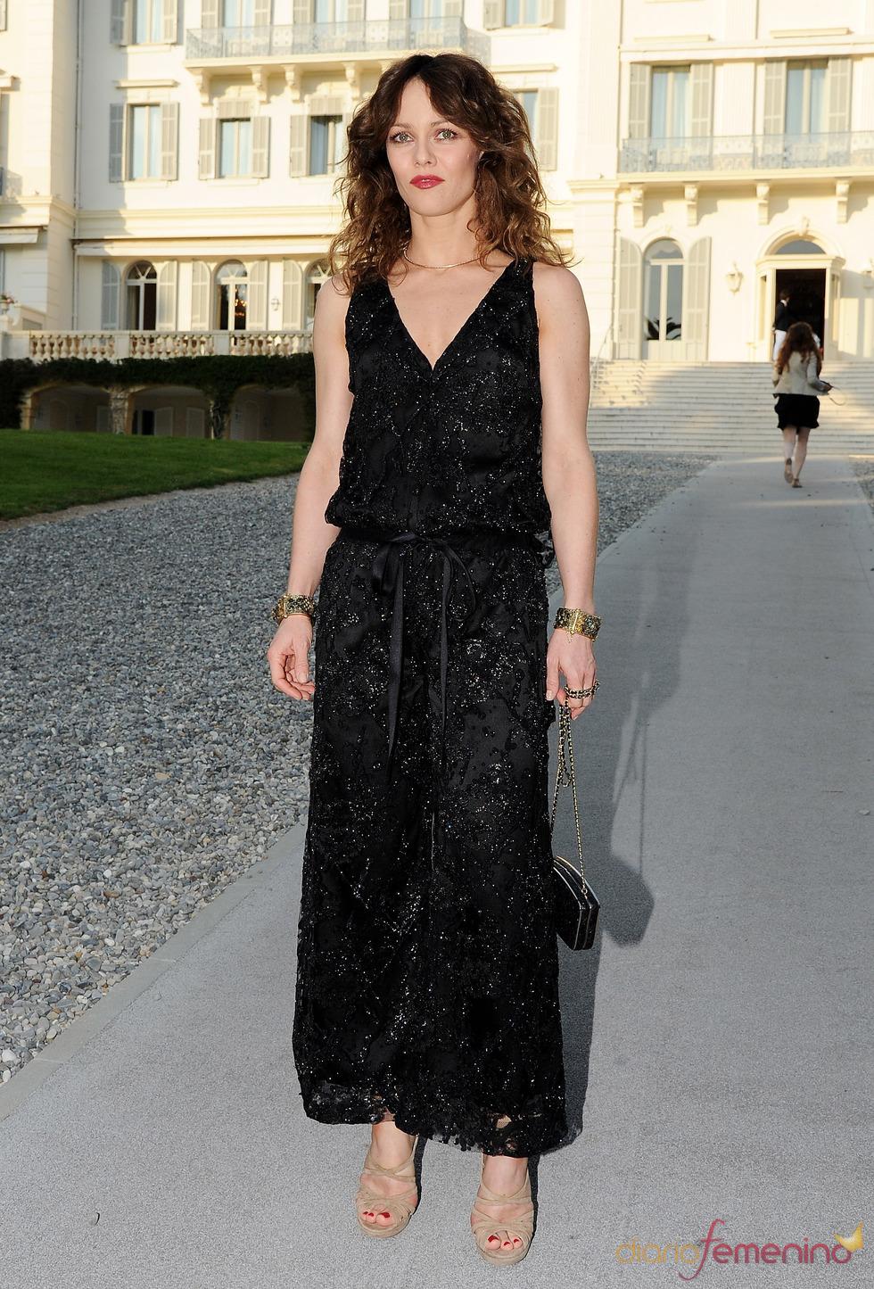 Vanessa Paradis en la presentación de la colección Crucero de Chanel 2012