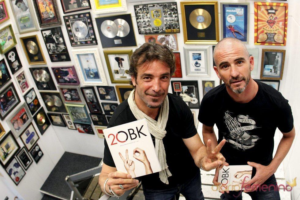 Jordi Sánchez y Miguel Arjona, fundadores de OBK, presentan '2OBK'