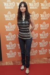 Beatriz Rico en el estreno de 'Maldito naranjito'