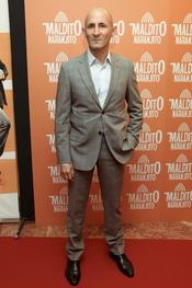 Modesto Lomba en el estreno de 'Maldito naranjito'