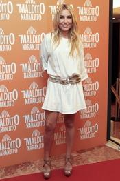 Berta Collado en el estreno de 'Maldito naranjito'