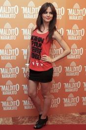 Romina Belluscio en el estreno de 'Maldito naranjito'