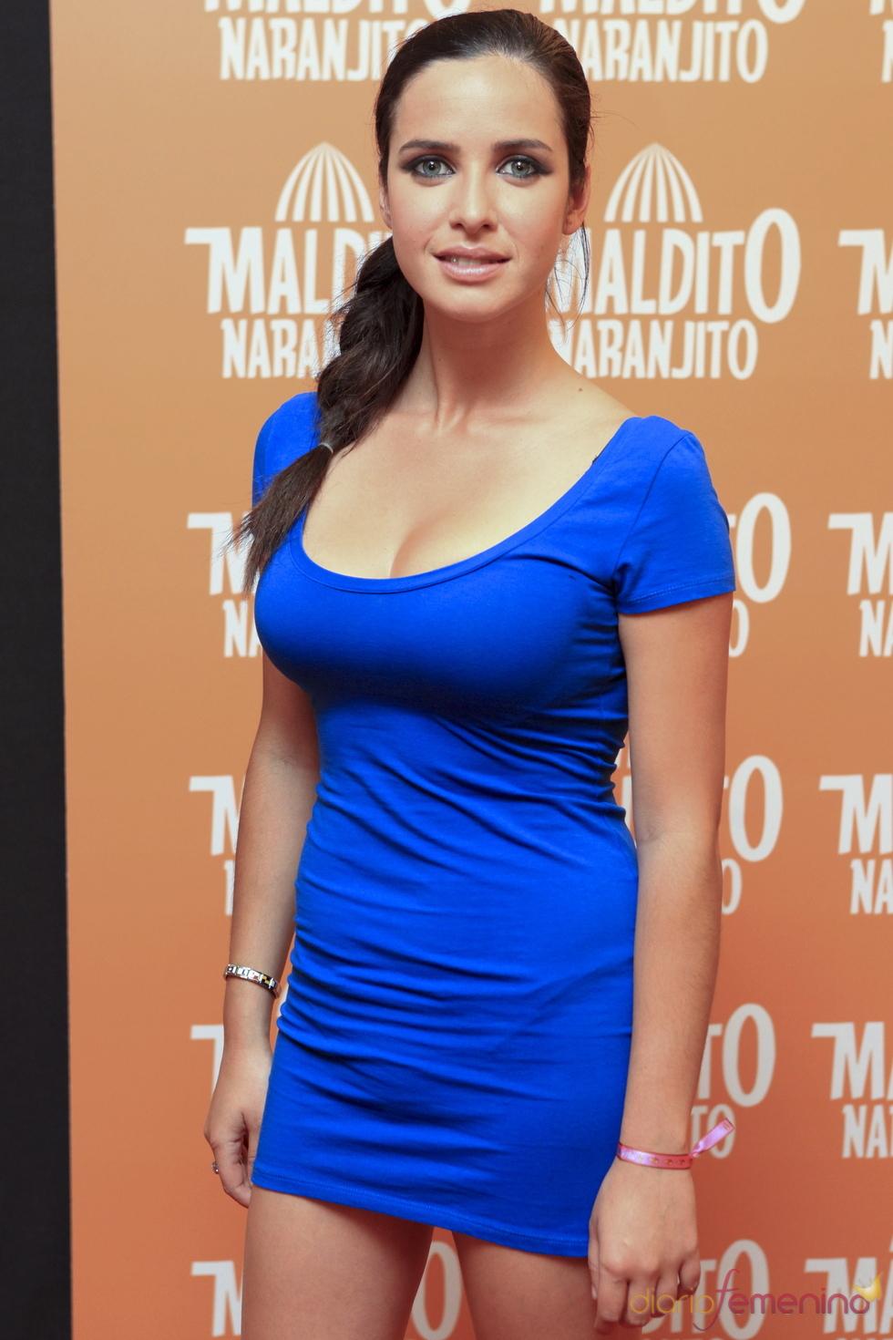 Paula Prendes en el estreno de 'Maldito naranjito'