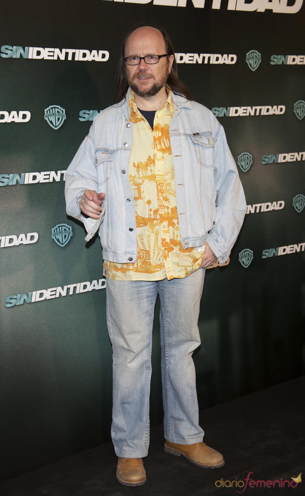 Santiago Segura en la premiere de 'Sin identidad' en Madrid