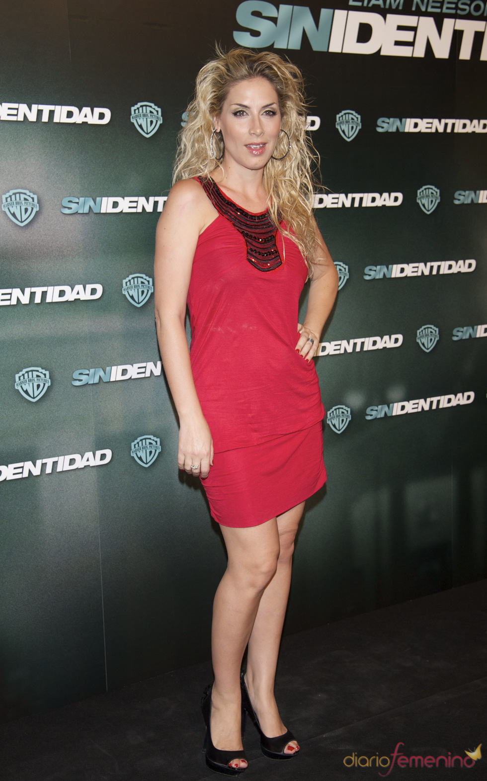 Roser en la premiere de 'Sin identidad' en Madrid