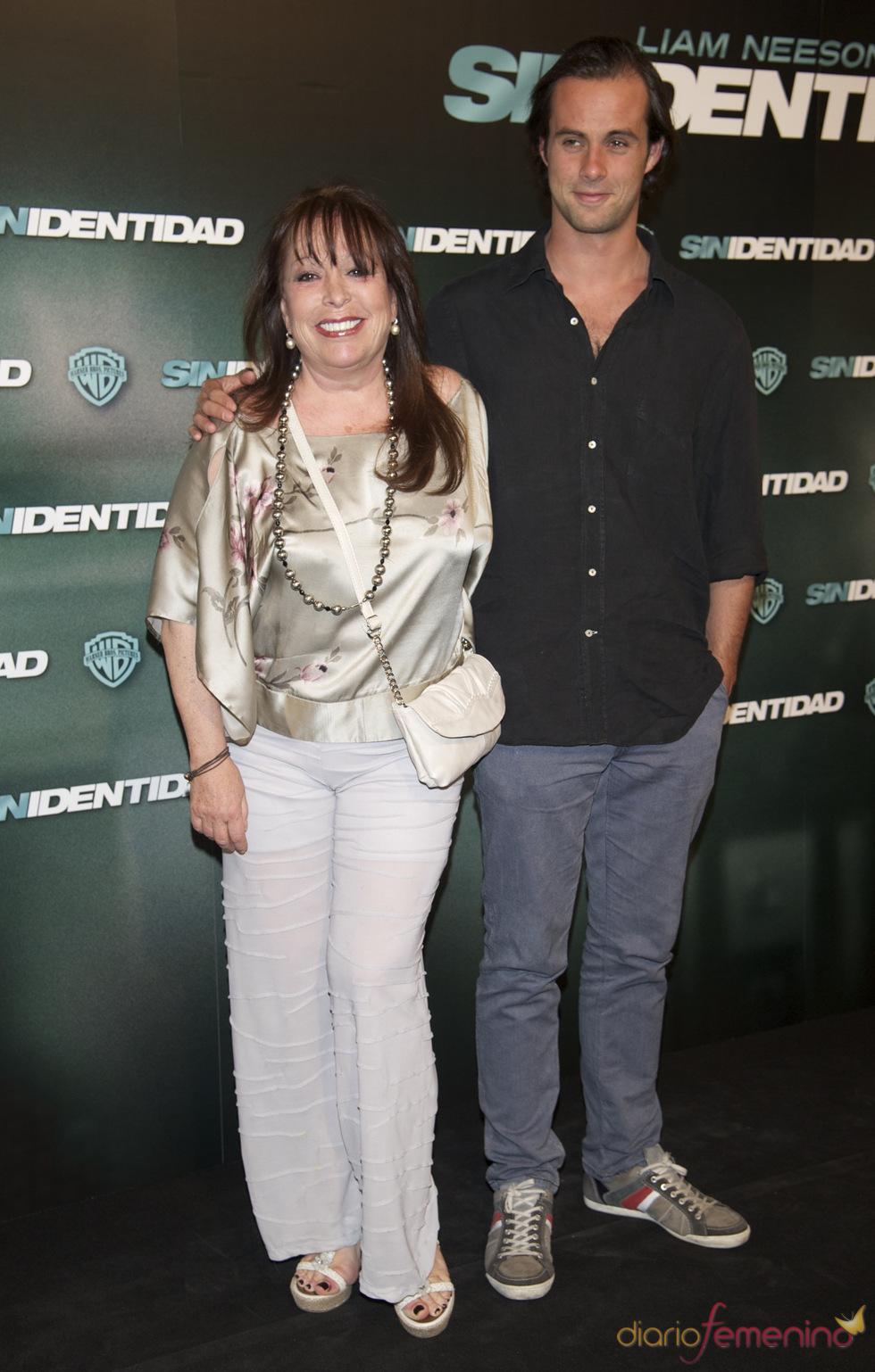 Massiel en la premiere de 'Sin identidad' en Madrid