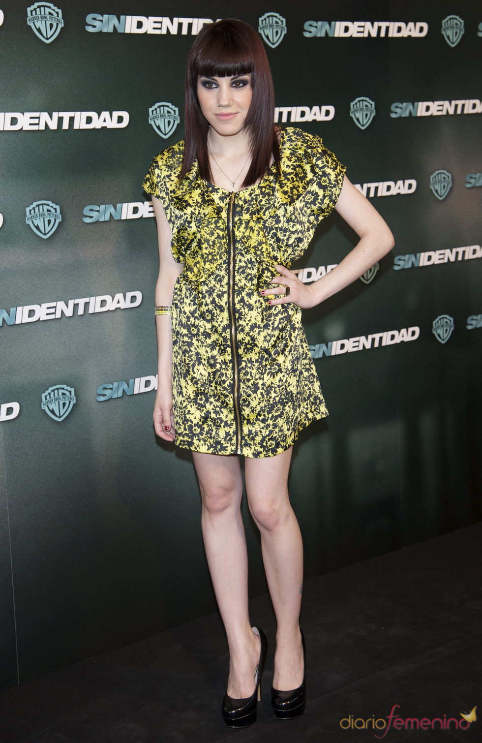 Angy en la premiere de 'Sin identidad' en Madrid