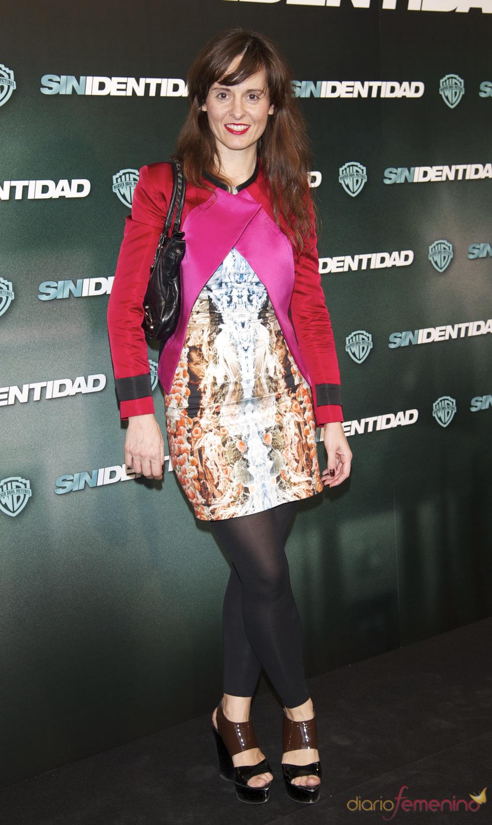 Ana Locking en la premiere de 'Sin identidad' en Madrid