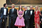 Elenco de 'Medianoche en París' en el Festival de Cine de Cannes 2011