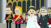 Boda Real de Inglaterra en South Park