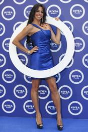 Marbelys Zamora en la celebración de los cien años de la marca Nivea