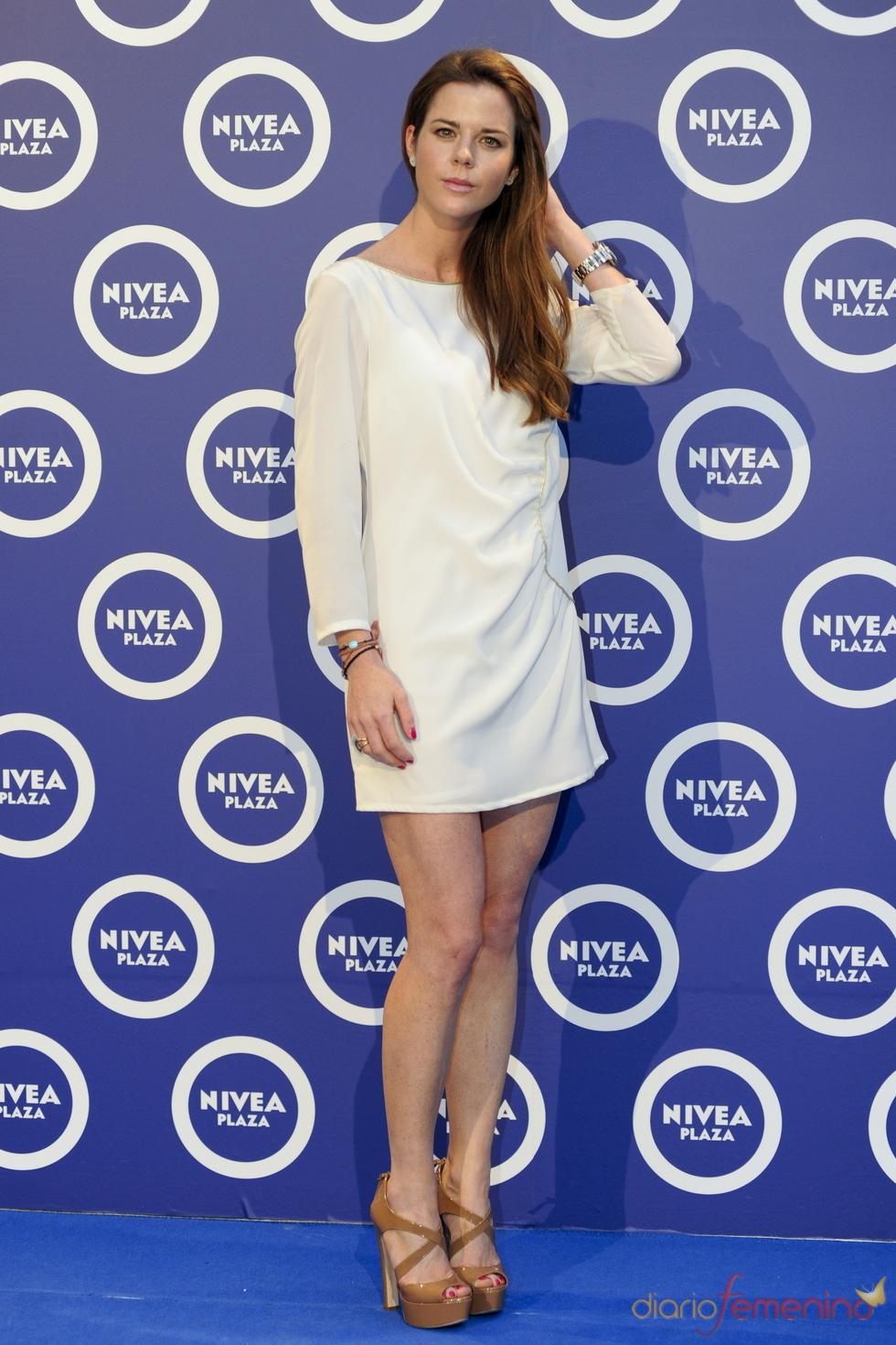 Amelia Bono en la celebración de los cien años de la marca Nivea