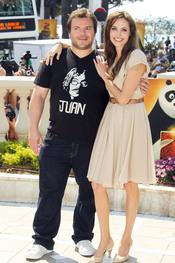 Angelina Jolie y Jack Black presentan 'Kung Fu Panda 2' en Cannes