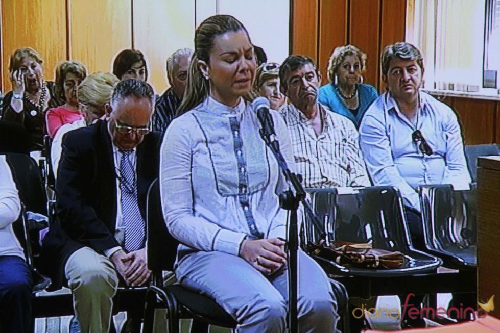 María José Campanario se derrumba ante la Justicia