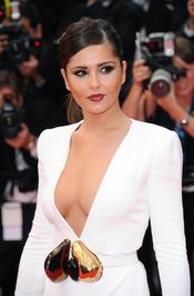 Cheryl Cole, espectacular de blanco en Cannes