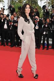 Paz Vega en la alfombra roja del festival de Cannes 2011