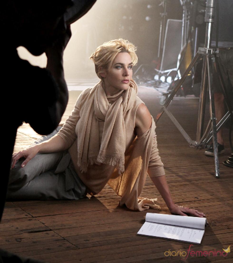 Espectacular Kate Winslet en las fotos para la marca St.John
