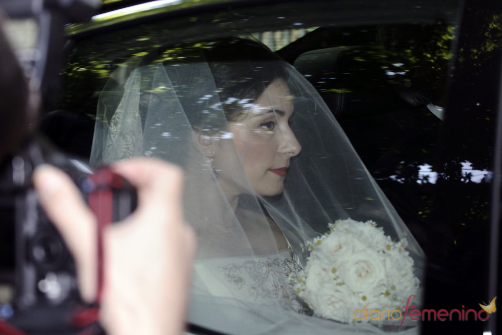 Asela Pérez Beceril, de novia en la boda con Jacobo Fitz-James Stuart