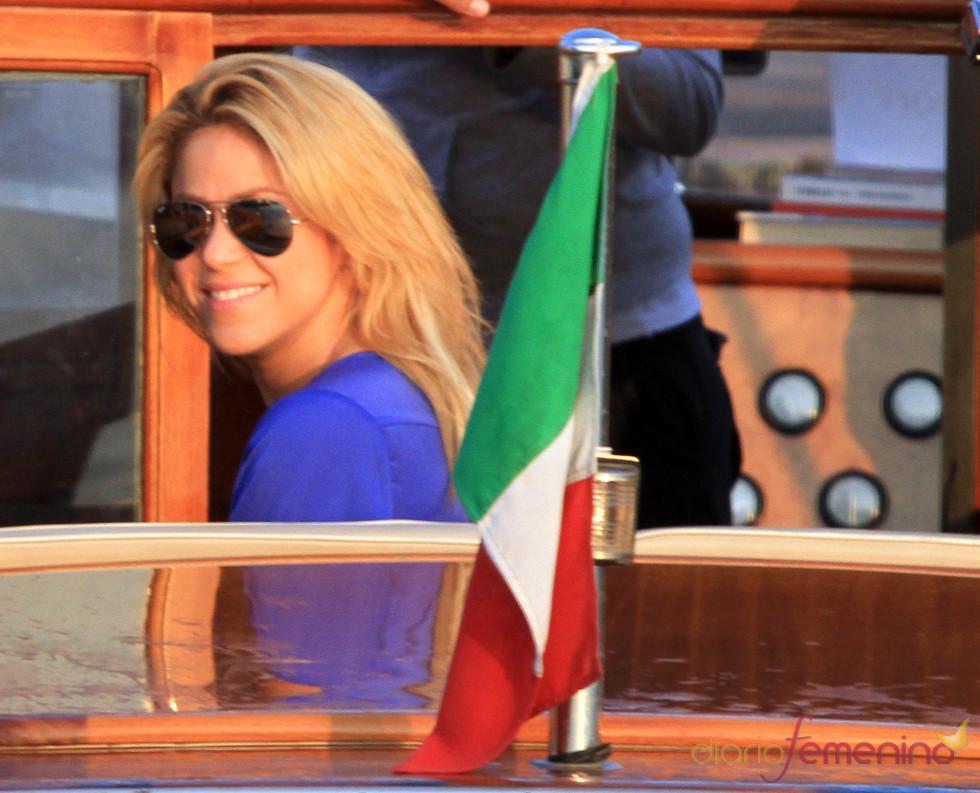 Shakira viaja a Italia para cantar en una boda india
