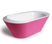Bañera rosa de la 'baby shower' de Victoria Beckham