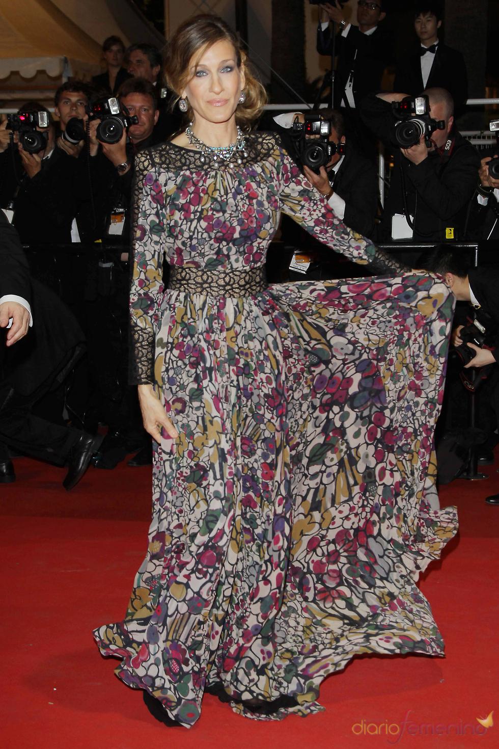 Sarah Jessica Parker en el Festival de Cine de Cannes 2011