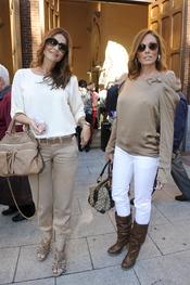 María José Suárez y Raquel Revuelta en Las Ventas