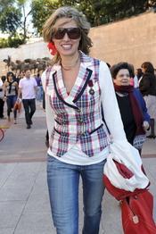 Anne Igartiburu en los festejos taurinos de San Isidro 2011 en Las Ventas