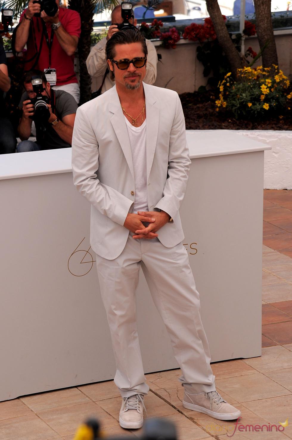 Brad Pitt en el Festival de Cine de Cannes 2011