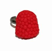 Anillo de mora roja de la colección 'sweet' de Abataba 2011
