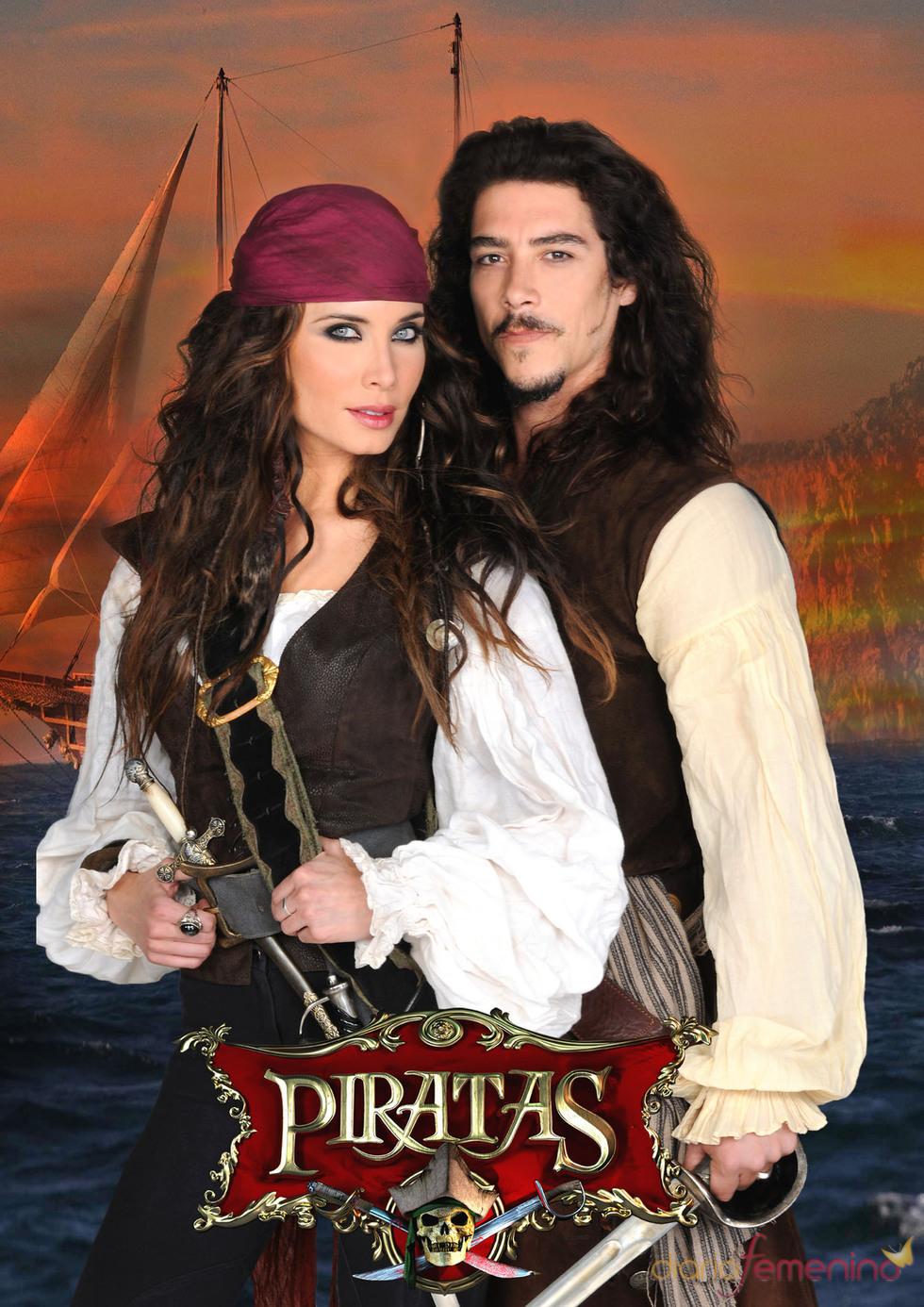 Pilar Rubio y Óscar Jaenada protagonizan 'Piratas'