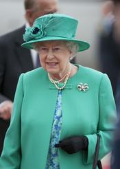 La Reina Isabel II llega a Irlanda