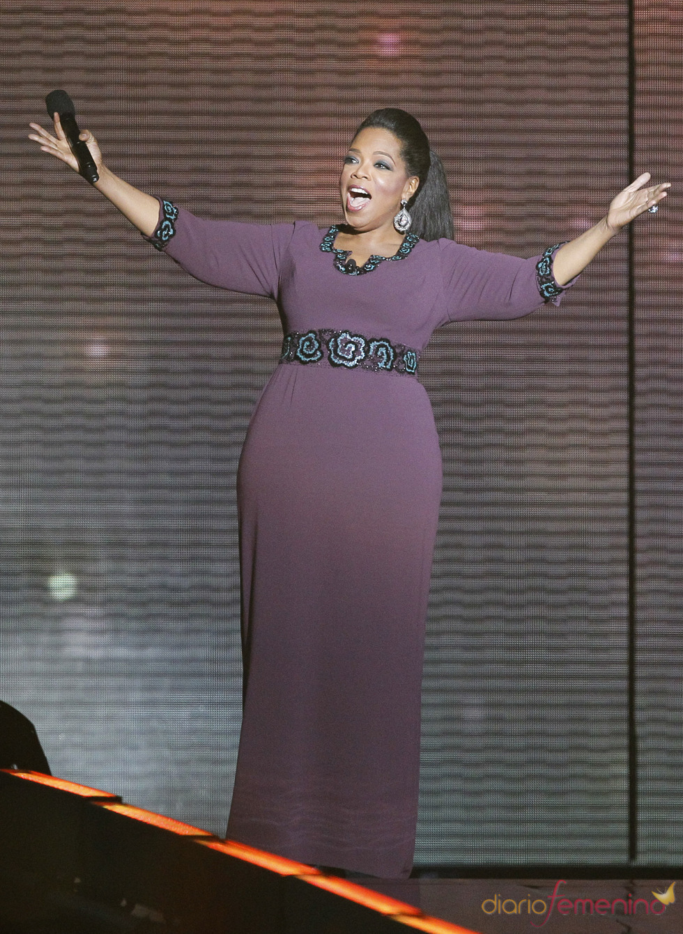 Oprah Winfrey presenta su último show