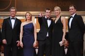 Elenco de 'El Castor' en la alfombra roja del Festival de Cannes 2011