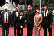 Elenco de 'Días de Gracia' en la alfombra roja del Festival de Cannes 2011