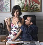 Antonio Banderas y Elena Anaya en un fotograma de 'La piel que habito'