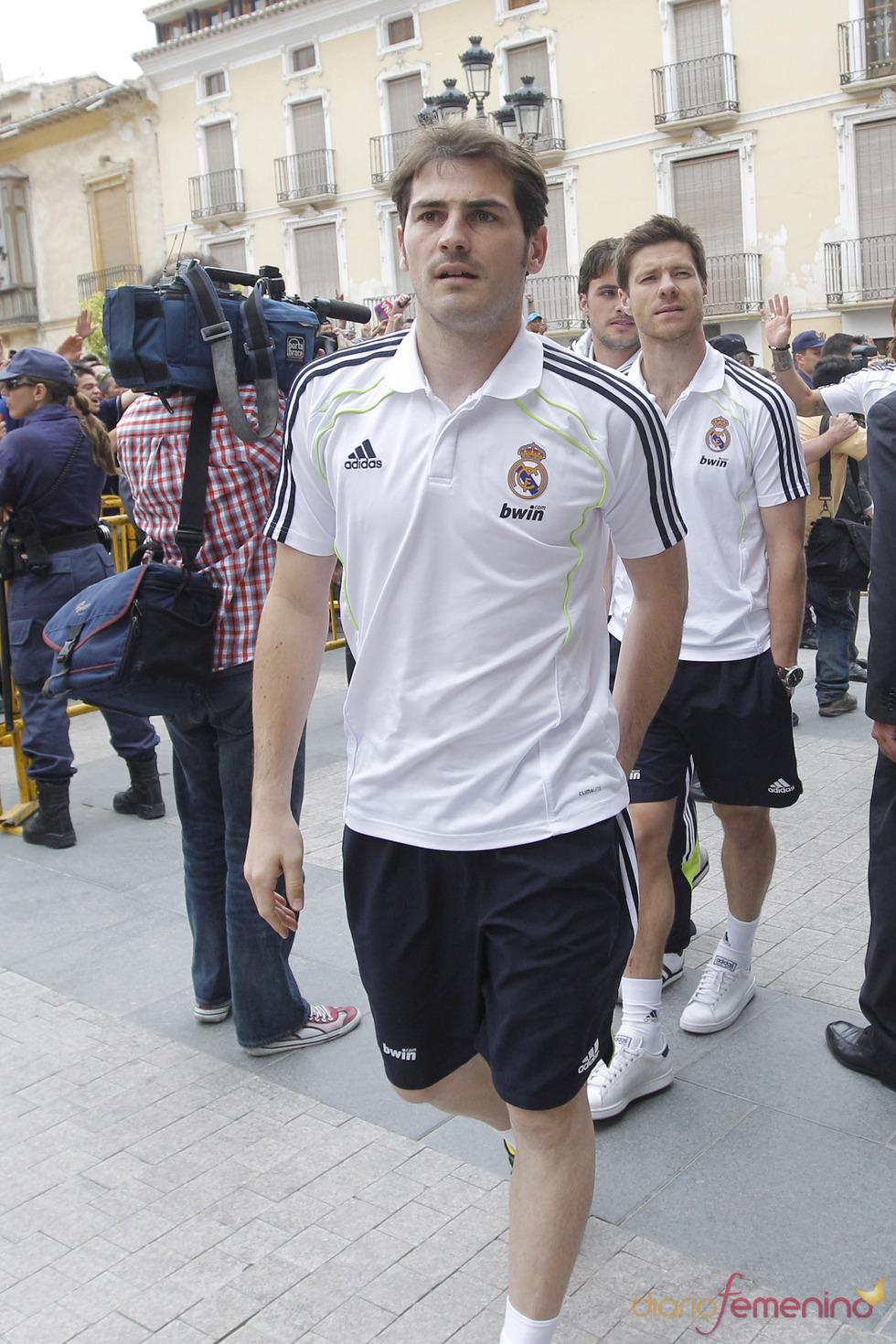 Iker Casillas llega a Lorca para participar en un acto solidario