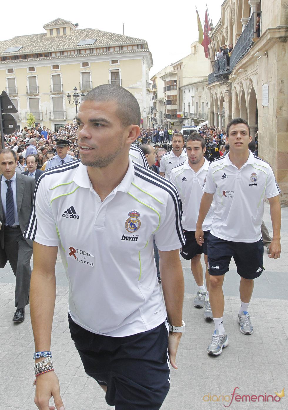 Pepe llega a Lorca para participar en un acto solidario