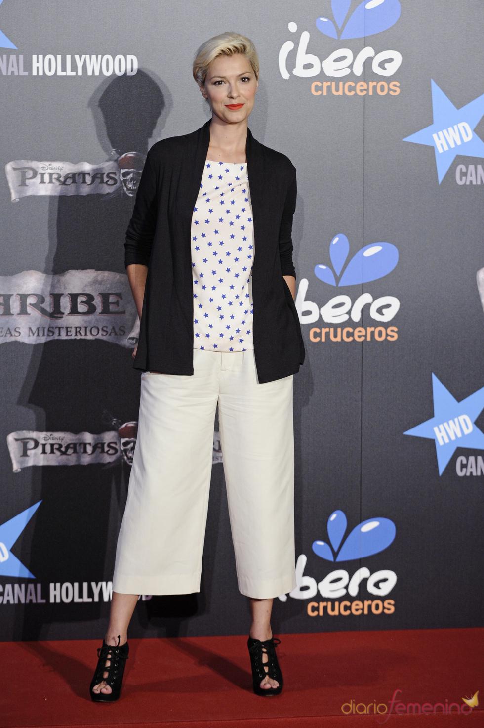 Cristina Urgel en el estreno en Madrid de 'Piratas del Caribe 4'