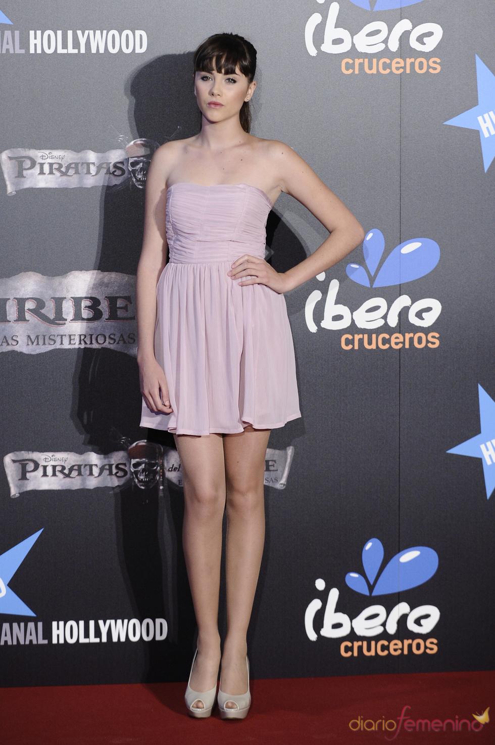 Lucía Ramos en el estreno en Madrid de 'Piratas del Caribe 4'