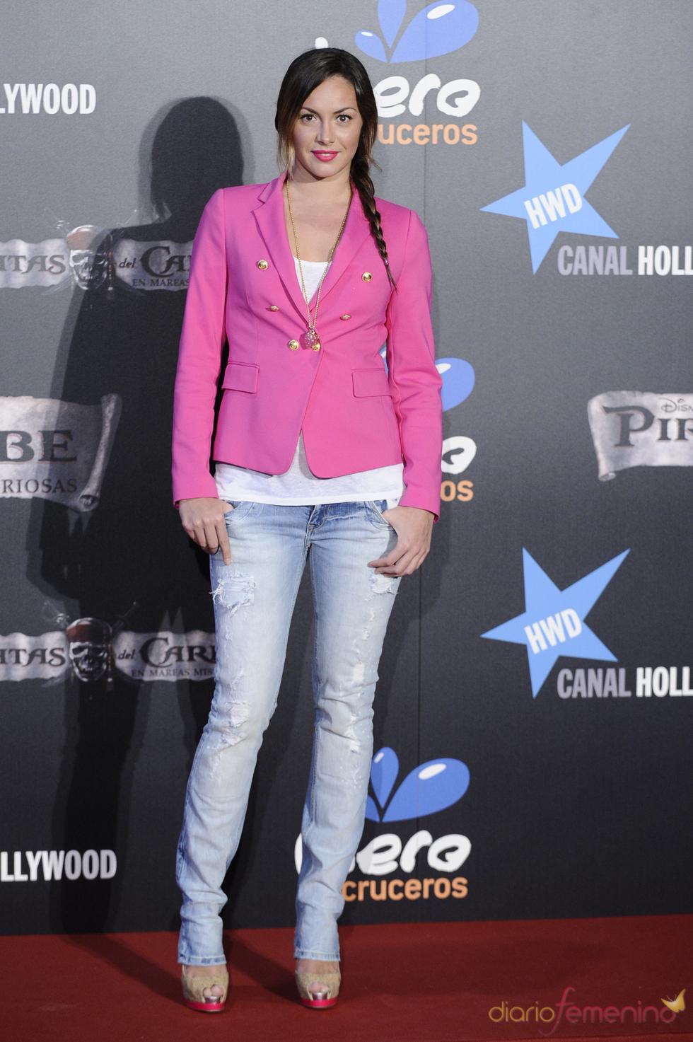 Priscila de Gustin en el estreno en Madrid de 'Piratas del Caribe 4'