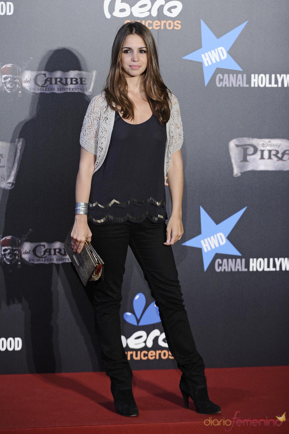 Elena Furiase en el estreno en Madrid de 'Piratas del Caribe 4'